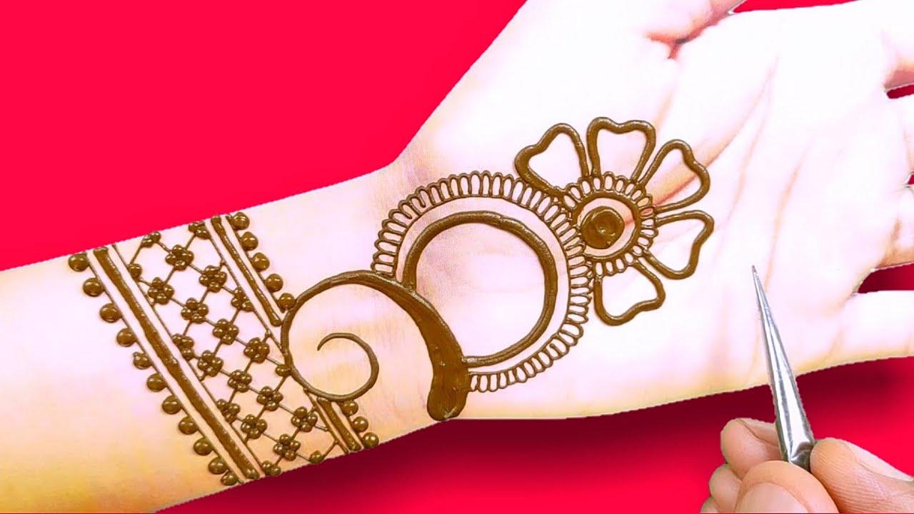 Download easy front hand mehndi design-latest beautiful Arabic Henna mehndi design-stylish mehndi design