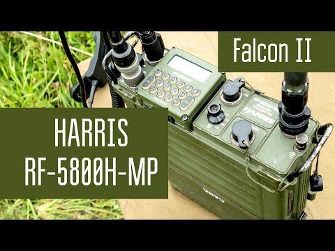 Harris RF-5800H-MP Falcon II PRC-150 Manpack HF Radio. Переносная КВ радиостанция НАТО.