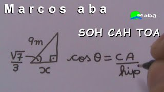 SOH CAH TOA - Seno Cosseno e Tangente (Aula 02)