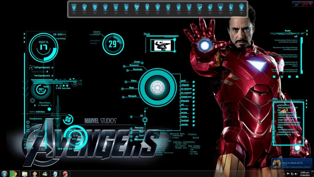 Protector de pantalla iron man mark vi youtube - Fondos de pantalla de iron man en 3d ...