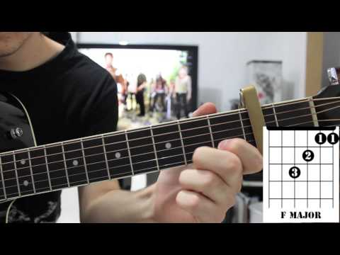 Forever & Always Parachute Guitar Tutorial