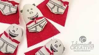Captain Underpants Treat Holder Craft for Kids