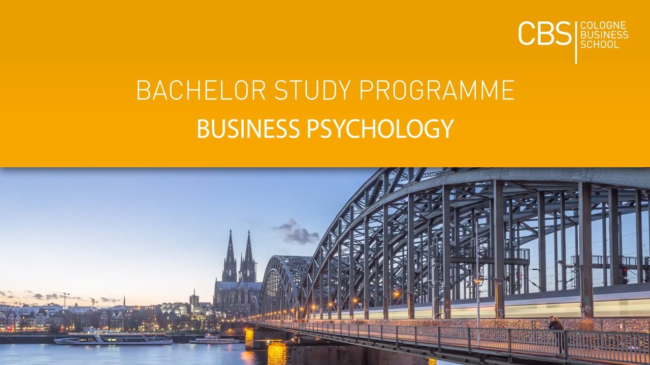 business psychology bachelor studies in germany english german