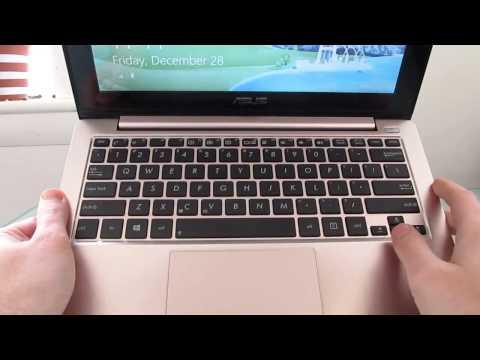 Asus Vivobook X202e Windows 8 Touchscreen Notebook Review Youtube