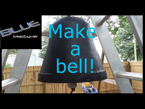 How to Make an Aluminum Bell at Home!!