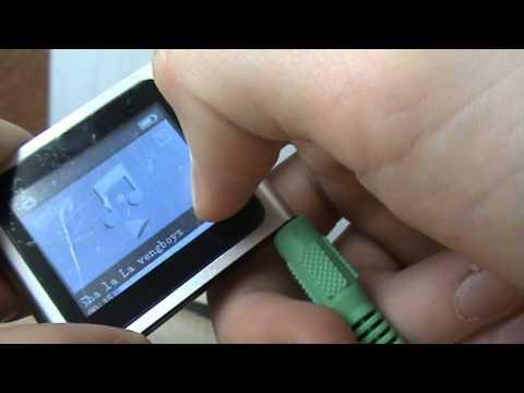 celine royal blue handbag - fake ipod 6 th gen. - YouTube