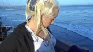 5/23/2015 Monterey Bay UFO Investigation - Deanna Gets Ready