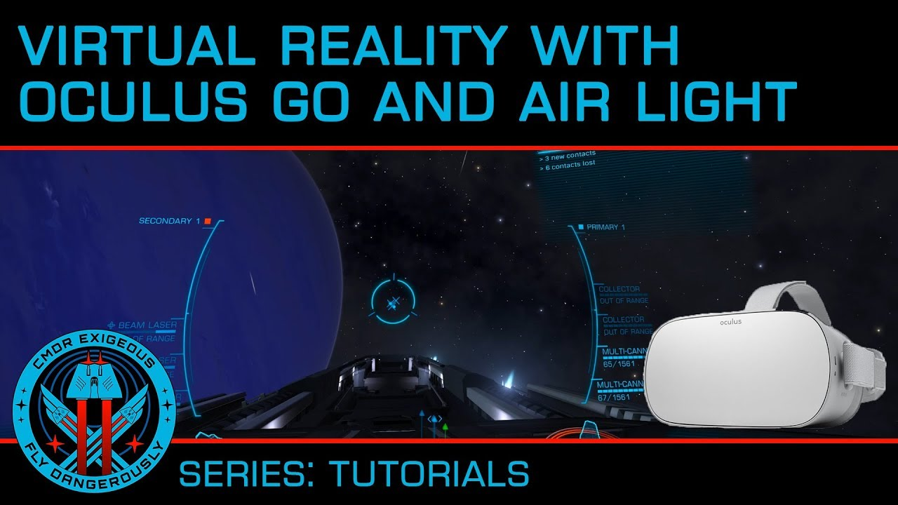 Tutorial: Elite in VR with Oculus Go and Air Light VR