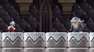 New Super Mario Bros Wii - All Castle Bosses