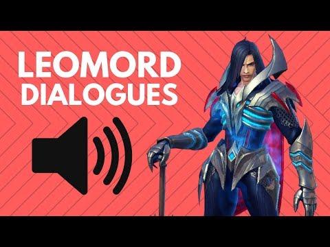 LEOMORD DIALOGUE / VOICE LINES | Mobile Legends