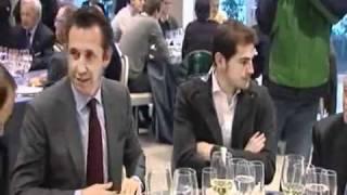 لاعب ريال مدريد المسلم ديارا يرفض وضع كاس الخمر امامه