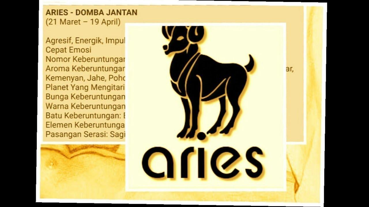 Simaklah Fakta Zodiak Aries Sifat Karakter Asmara Hobi