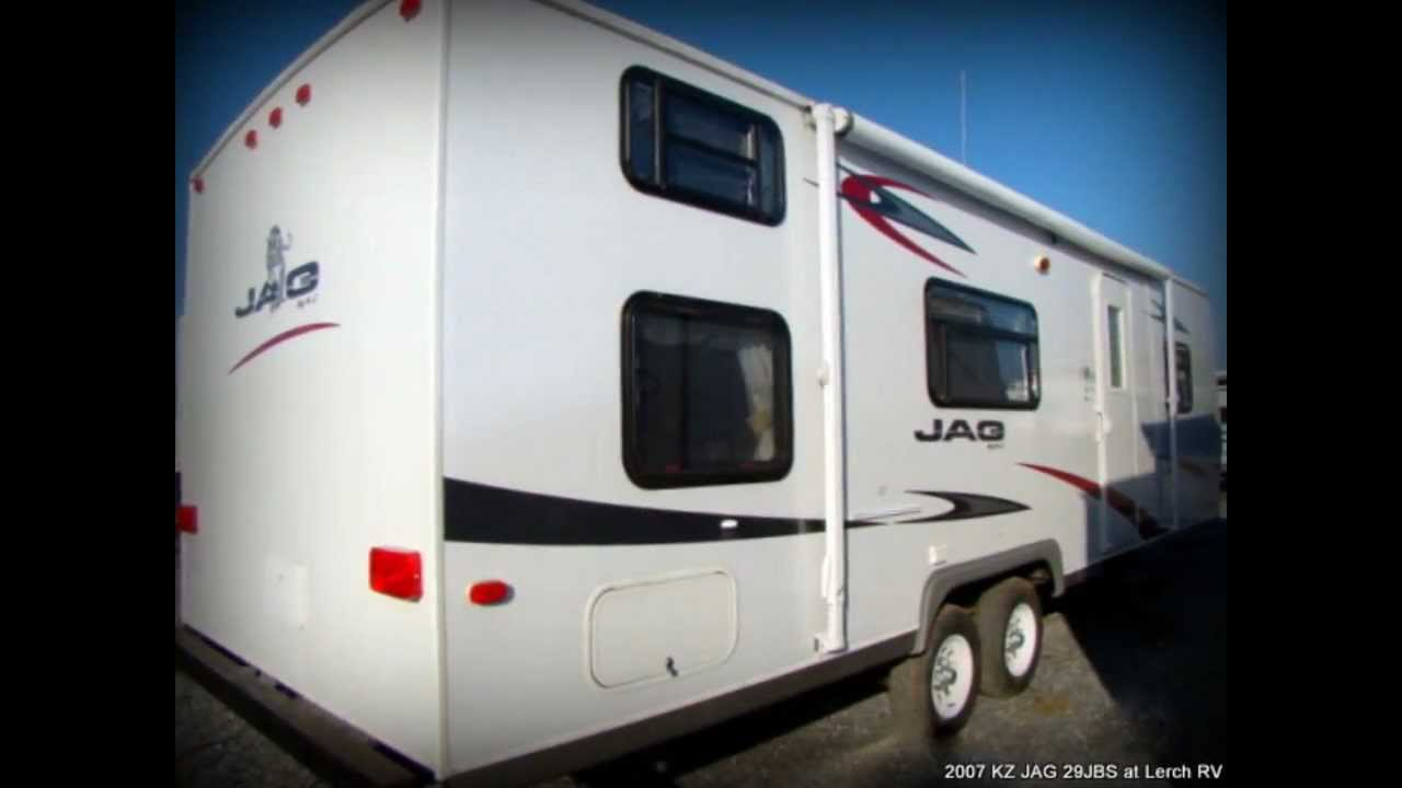 Rv Trailer For Sale >> 2007 KZ JAG 29JBS used travel trailer for sale in PA-Lerch ...