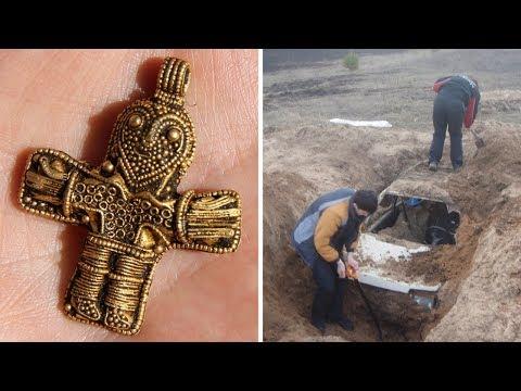 55 кладов, найденных при помощи металлоискателя