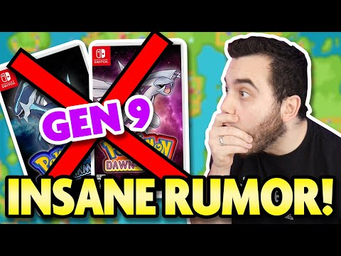 The BIGGEST POKEMON GAME Yet!? Huge New Rumor For Generation 9 Pokemon!