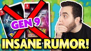 The BIGGEST POKEMON GAME Yet!? Huge New Rumor for Generation 9 Pokemon!