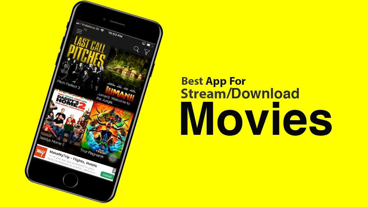 How to STREAM/DOWNLOAD Latest Movies on iPhone 5s/6/6s/7/8/X Free