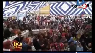 طالبات يرقصن على «آه لو لعبت يا زهر» بحضور مدير الإدارة التعليمية (فيديو)