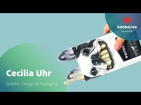 Live Graphic Design & Packaging with Cecilia Uhr 1/3