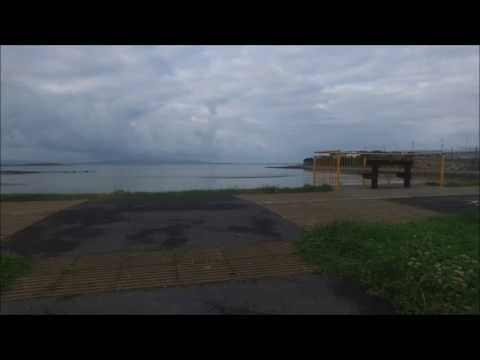 Phantom 3 professional Maiden flight footage from Ballyloughane beach Renmore Galway