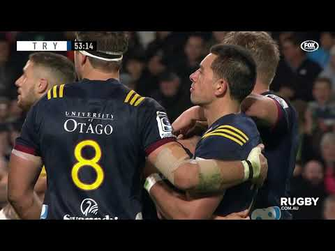 Super Rugby 2019 Round Eight: Highlanders vs Hurricanes