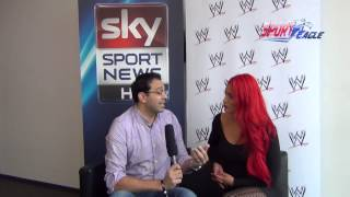 "Sport Eagle TV Interview - Eva Marie, WWE Diva and E! Network ""Total Divas"""