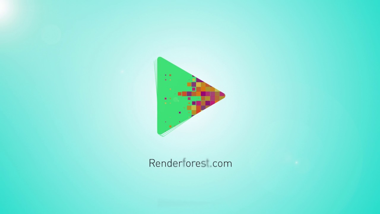 Simple Logo Animation Template - YouTube