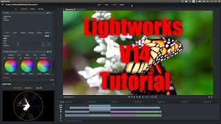 Lightworks Beta V14 Tutorial