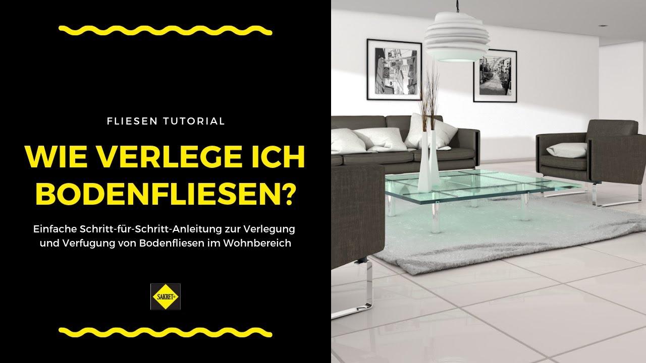 bodenfliesen im wohnzimmer oder schlafzimmer verlegen und verfugen neu sakret heimwerker tv. Black Bedroom Furniture Sets. Home Design Ideas