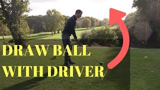 HOW TO HIT A DRAW WITH A DRIVER