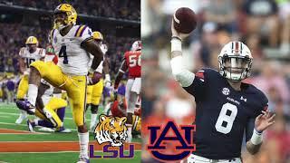 LSU vs Auburn | 2018 College Football Prediction