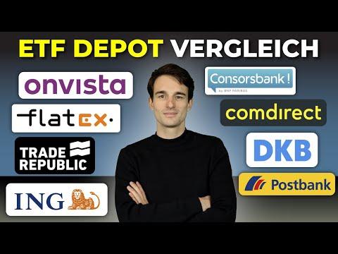 ETF Sparplan Vergleich 2020: Das beste ETF Depot! | Kostenlose ETF Sparpläne im Depot-Vergleich