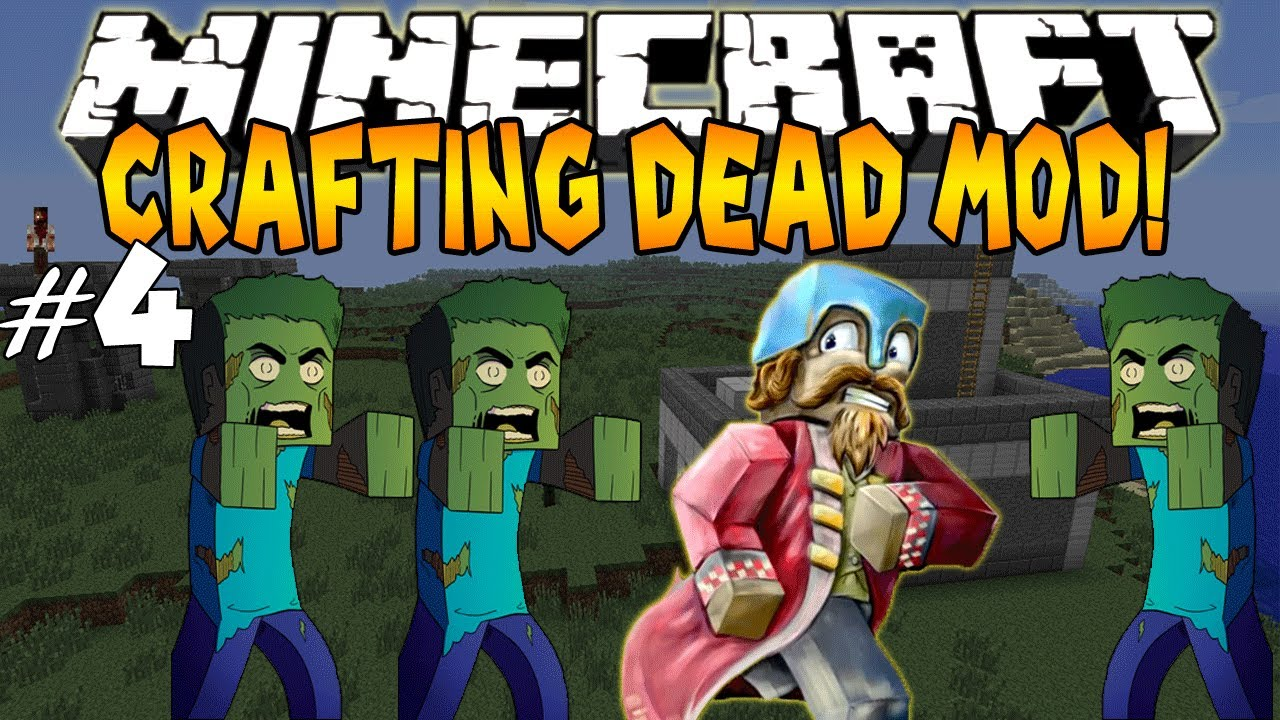 the crafting dead mod minecraft crafting dead mod 4 i lost everthing 5576