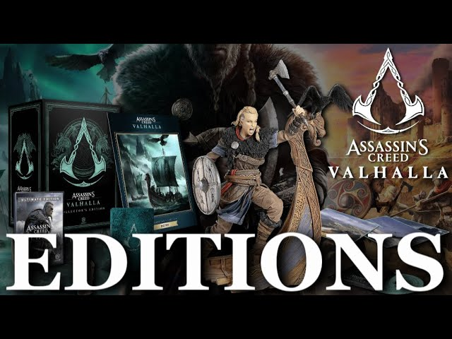Assassin S Creed Valhalla All Of The Editions Youtube