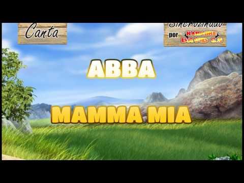 Abba - Mamma mia Karaoke (Version Español)