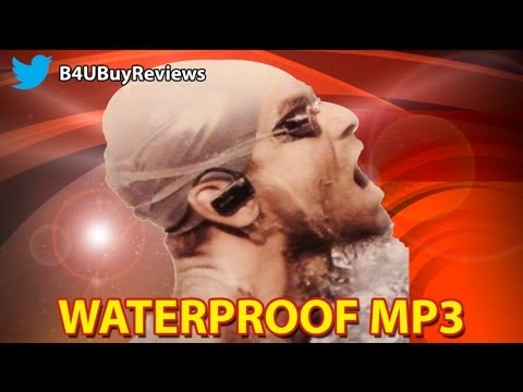 Waterproof Headphones, Sony Walkman MP3 Player, Unboxing and Review, NWZ-W273, 4GB
