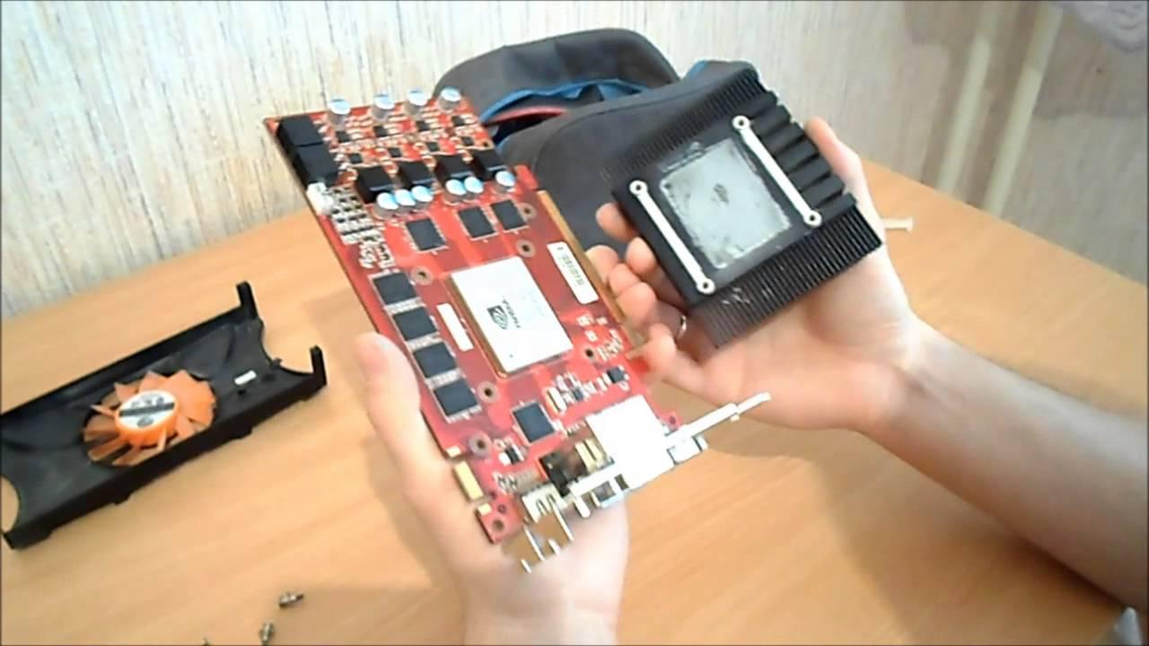 Как отремонтировать видеокарту в домашних условиях 107