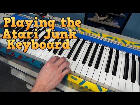 Playing Ben Heck's Atari Junk Keyboard