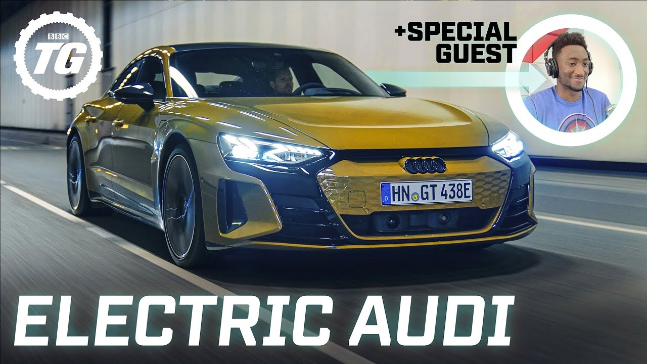 FIRST DRIVE: Audi RS e-tron GT, 637bhp EV review... feat. Marques Brownlee