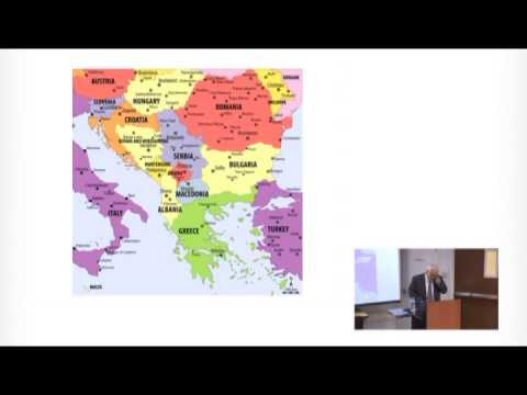 Dr James Pettifer South East Europe, A Generation After the Cold War Realism or Optimism