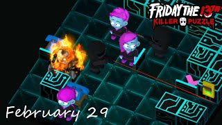 Friday the 13th: Killer Puzzle - Daily Death February 29 Walkthough (iOS, Android)