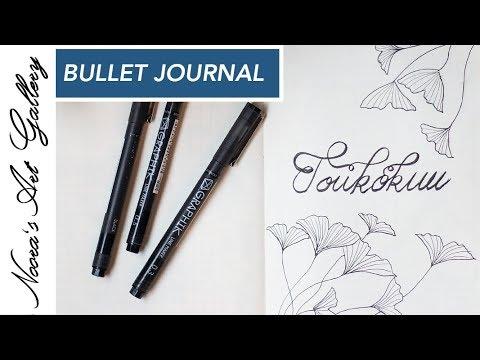 Bullet Journal - Toukokuu - Noora's Art Gallery