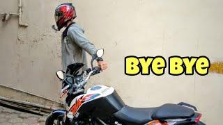 Leaving My Bike | KTM Duke 200
