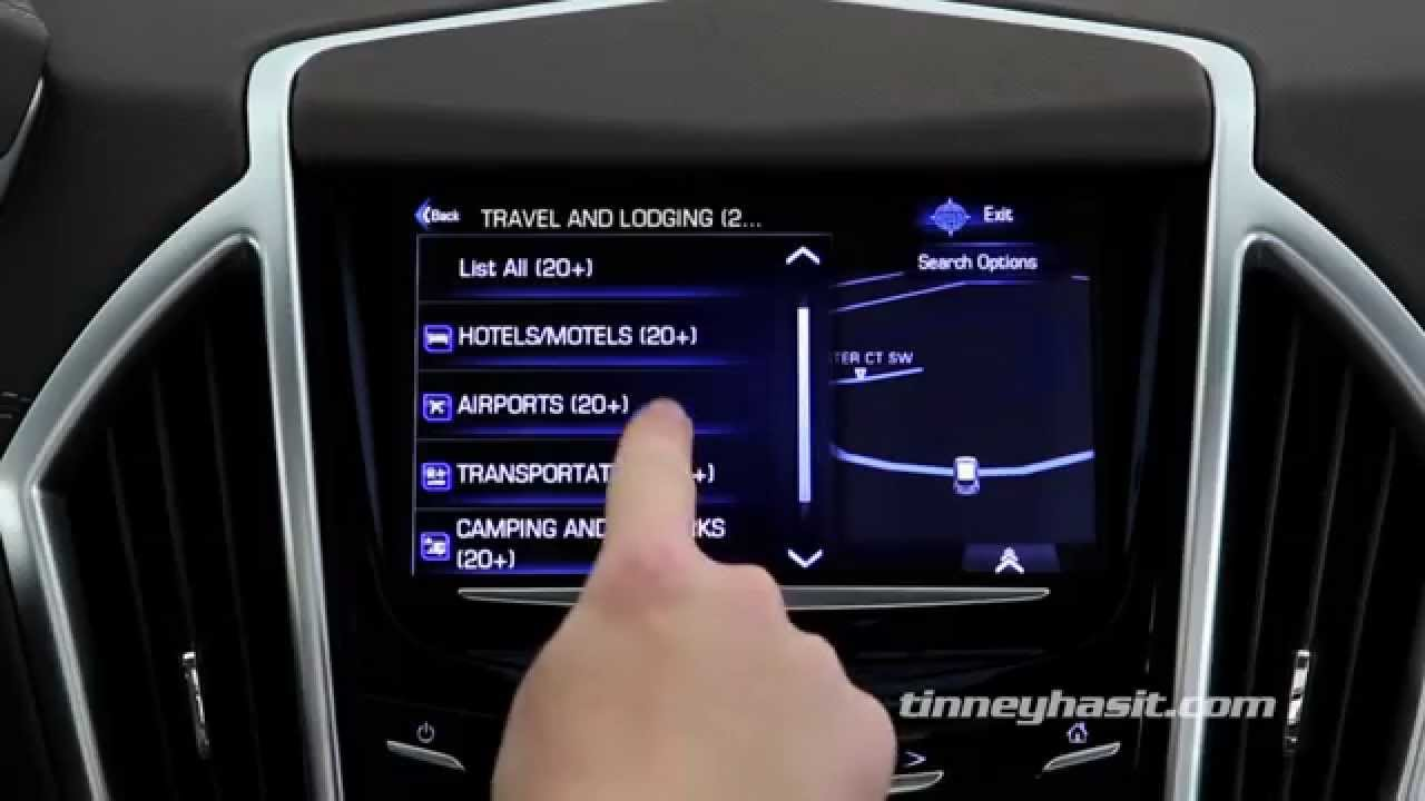 How To Use Cadillac CUE Navigation
