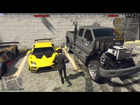 [LIVE STREAM] GTA V Online đi phượt cùng mọi người ^^ | ND Gaming