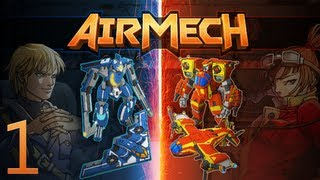 AirMech - Game 1 - 3v3 PvP on Chasm