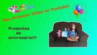 Meu Primeiro Vídeo no Youtube