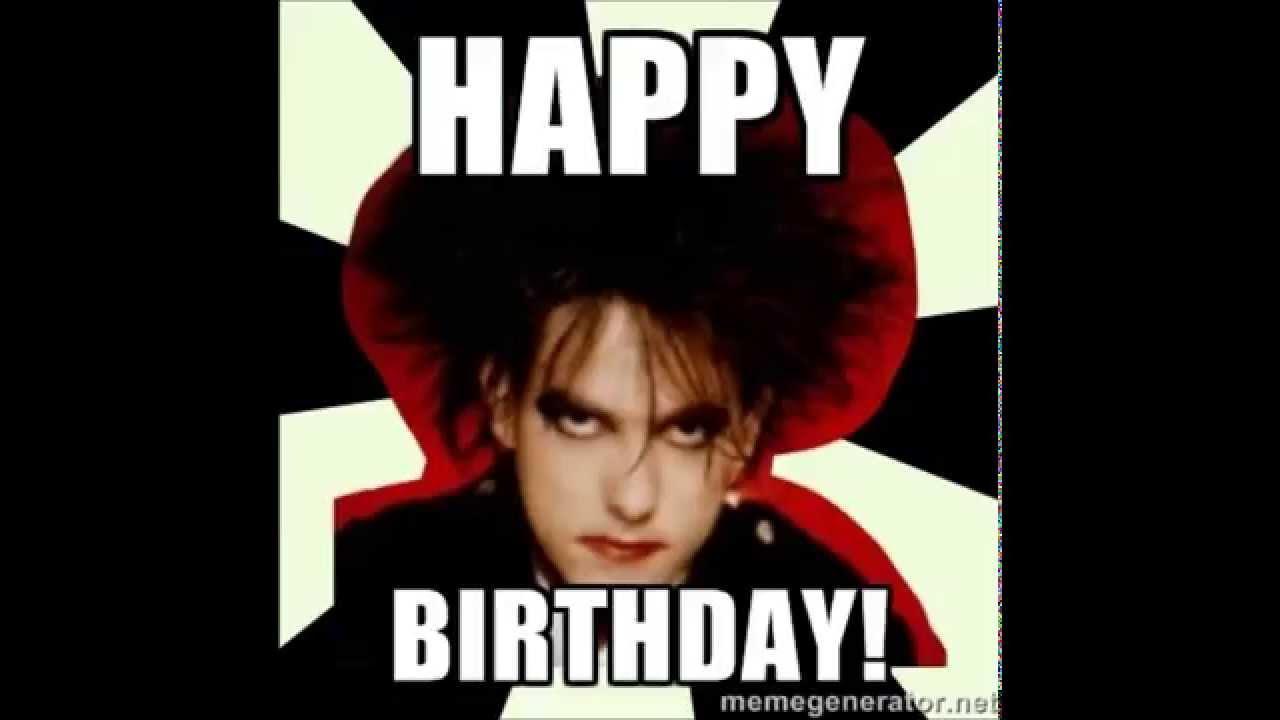 The Cure Happy Birthday Youtube