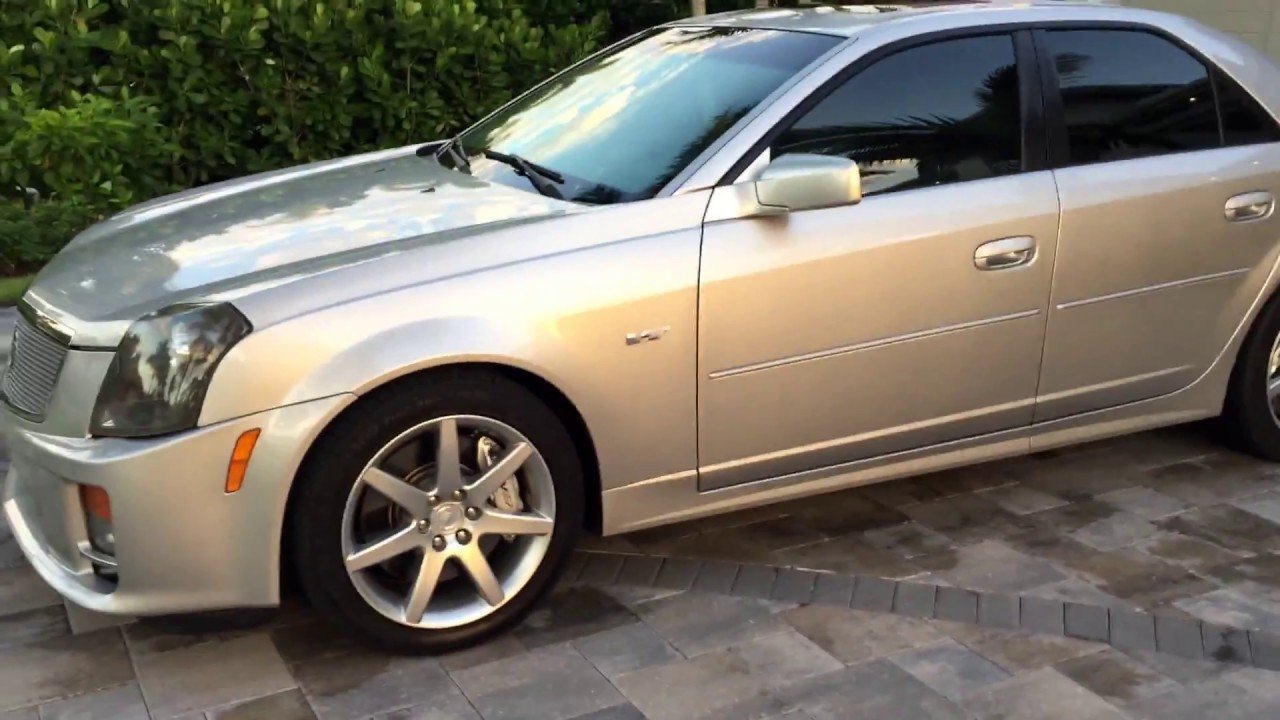 2005 Cadillac Cts V Sedan For Sale By Auto Europa Naples