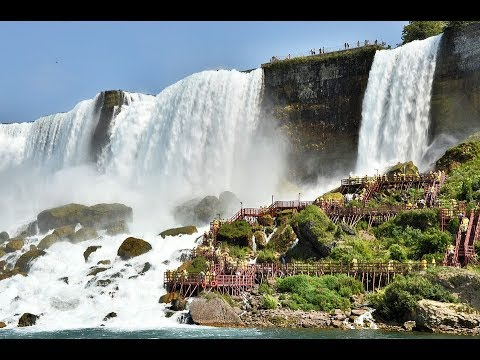 Niagara Falls / Border of Ontario, Canada, and New York, United States